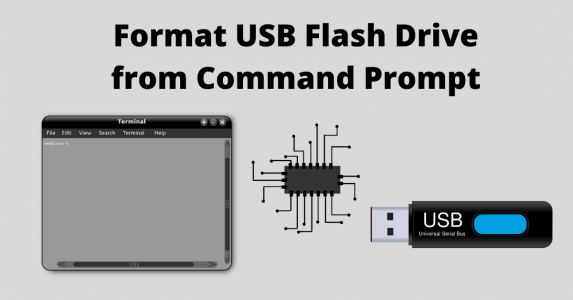 How to Format USB Flash Drive from Command Prompt