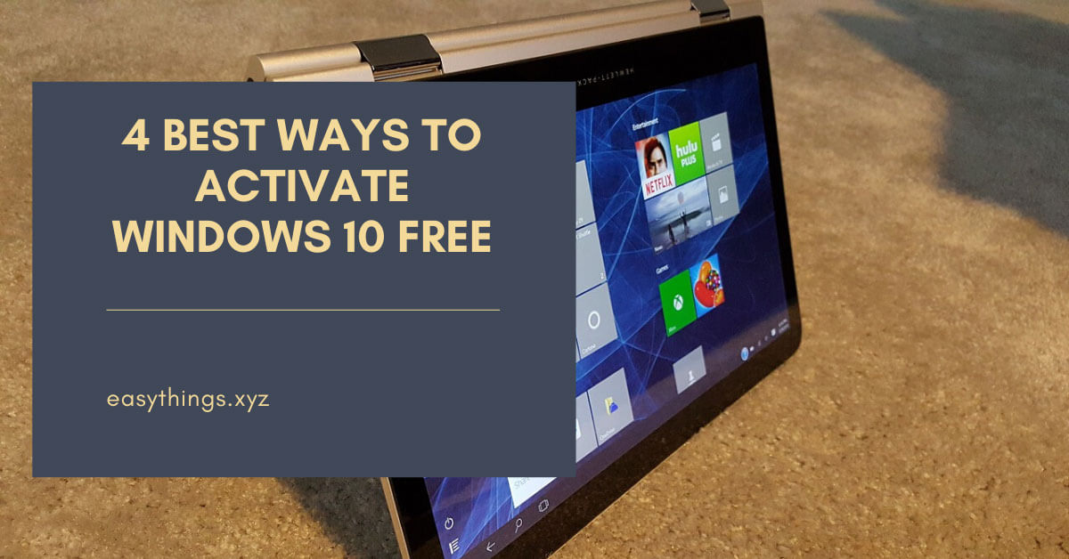 activate windows 10 using kmspico