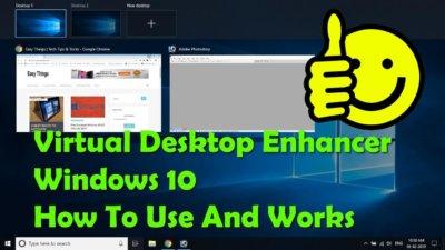 How To Use Windows 10 Multiple Desktops