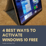4 Best Ways To Activate Windows 10 Free