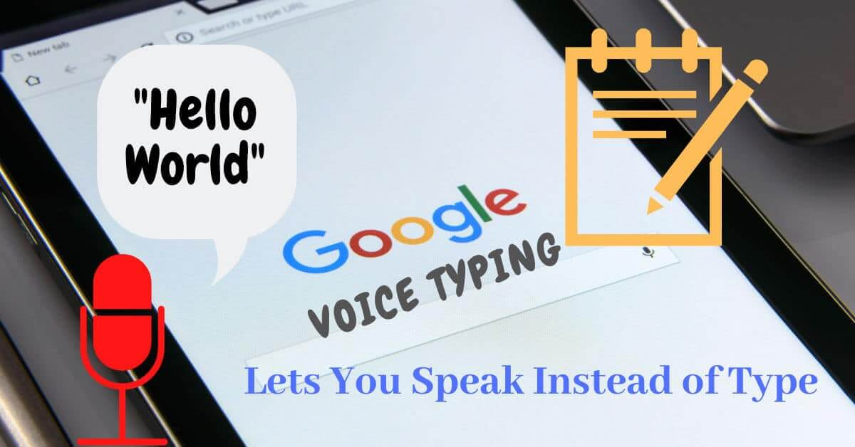 Voice Typing Online Free