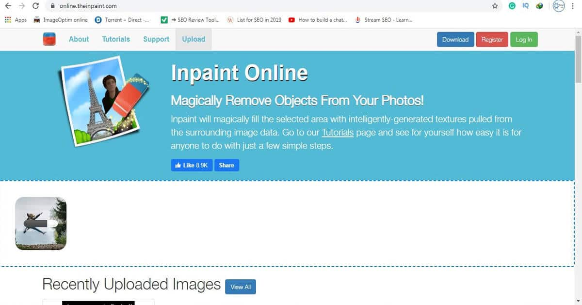 remove objects from photos online